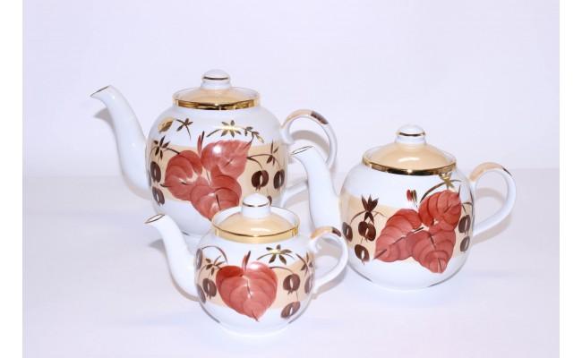 """Набор чайников """"Осенний лист"""""""